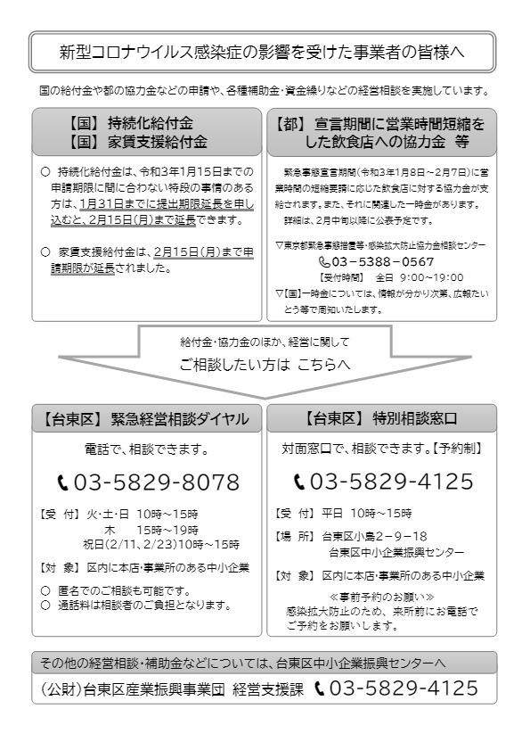 家賃 補助 コロナ 東京 都